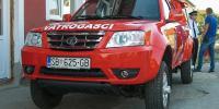 Blagoslovljeno terensko vozilo DVD-a Slavonski Kobaš
