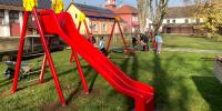 U Slavonskom Kobašu nova igrala za dječje igralište